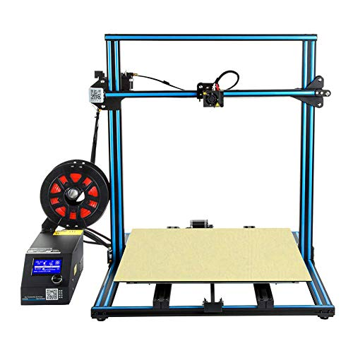 QinLL 3D Printer, met Upgrade Filament Sensor, Dual Z Axis Grote Printing Size 500x500x500mm, hervatten afdrukken wanneer Power Off,bb