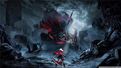 God Eater 2 Rage Burst Diy 5D, Pintura De Diamantes Para Adultos Y Niños, Diamante Redondo Decoración De La Pared Del Hogar - 16' X 23.6'