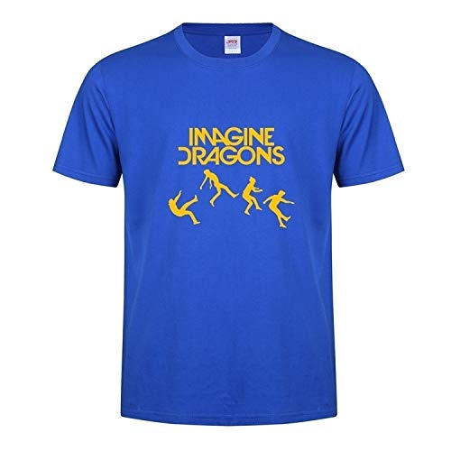 The New Summer Round Lead Mystery Band Imagine Dragons Short-Sleeved T-Shirt Independent Rock and Roll Alternative Rock Rep
