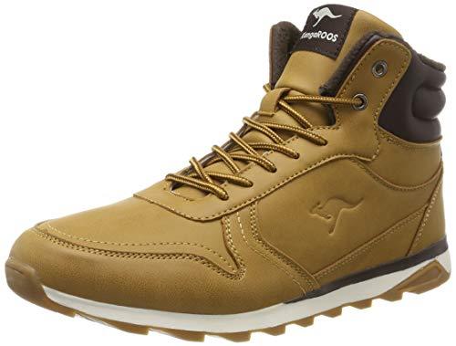 KangaROOS Herren K-Vince S Hohe Sneaker, Beige (Tan 3015), 42 EU