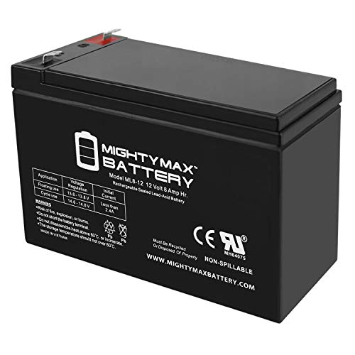Mighty Max Battery 12V 8Ah SLA Battery for Razor MX350, MX400 Electric Dirt Bike Brand Product