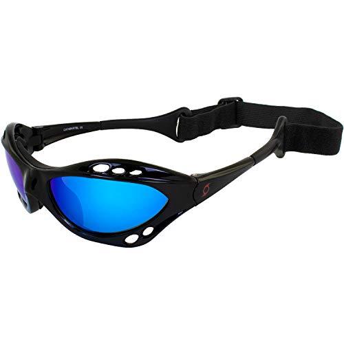 Hurricane Category 4 Polarized Jet Ski Floating Goggles Black Padded...