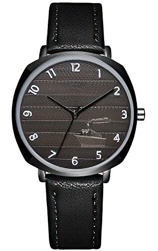Relojes De Pulsera para Hombres,CIVO Reloj Militar Deportivos para Hombre 3ATM Impermeable Reloj de Pulsera de Cuarzo para Hombre con Correa en Piel Genuina Reloj Hombres