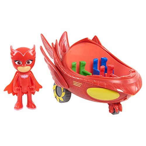 "JP PJ Masks ""Owlette Flyer Veicolo e Figure"