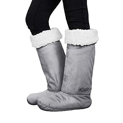 THE COMFY | Non-Skid Sherpa Slipper Socks, 2 Sizes, Shark Tank