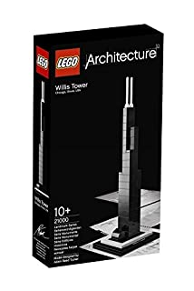 LEGO Architecture 21000 - Willis Tower, costruzione a 69 pezzi (B004V7J96Y) | Amazon price tracker / tracking, Amazon price history charts, Amazon price watches, Amazon price drop alerts