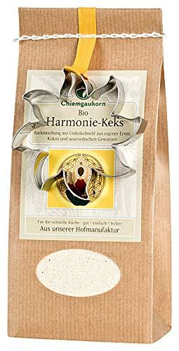 Chiemgaukorn Bio Chiemgauer Harmonie-Keks, Backmischung mit Keks-Ausstecher 270 g