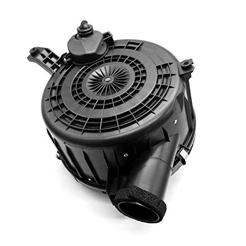 KKmoon Caja del Limpiador del Filtro de Aire, Conjunto de Carcasa de Filtros de Aire de Motor Reemplazo para Toyota Hilux 2005-2008 3.0L Diesel sin Orificio para el Sensor