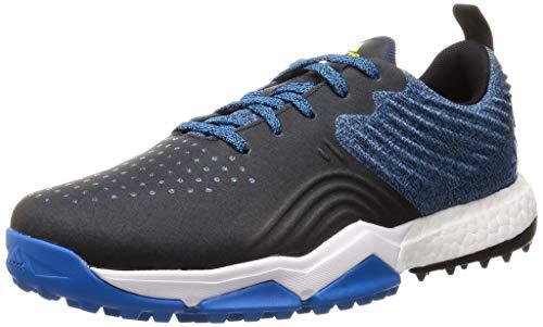 adidas Herren Adipower S4 Golfschuhe, Blau (Azul/Negro B37176), 44 2/3 EU