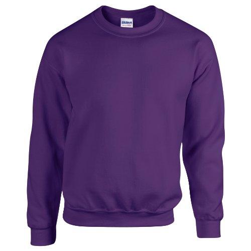 Gildan Herren Sweatshirt, Violett, L