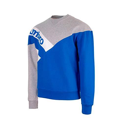 Umbro Unisex Sudadera Vintage Sweatshirt, XL, L