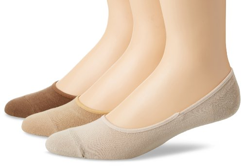 Sperry Top-Sider Men's Solid Canoe 3 Pair Pack Liner Socks, Bone, 10-13/Shoe Size 6-12