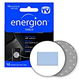 ENERGION Shield EMF Protection Stickers – Tesla Technology EMF Blocker Anti-Radiation Stickers – Radiation Blocker for Cell Phones, Tablets and Other Electronics - 3G, 4G, 5G Blocker - 10 EMF Stickers
