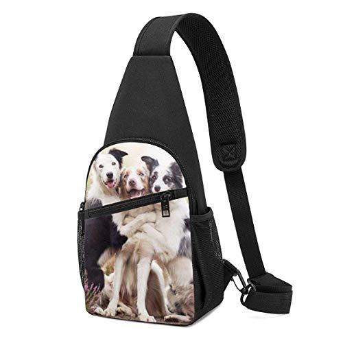 Bonita mochila para perro, para viajes, senderismo, bolsa de hombro para hombre.