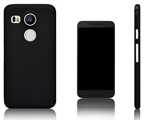 Xcessor Vapour Funda Carcasa de TPU Gel Flexible para LG Nexus 5X. Negro