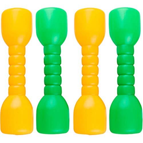 Mancuernas de Plástico para Niños Juego de Mancuernas Niñ