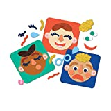 Manhattan Toy Making Faces 34-Piece Emotion Toy for Kids 3 Years and Up