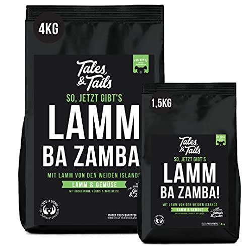 Getreidefreies Softfutter für Hunde I 75% Lamm als einzige tierische Proteinquelle I nur 6 Zutaten I hohe Verträglichkeit I hohe Akzeptanz (1,5kg)