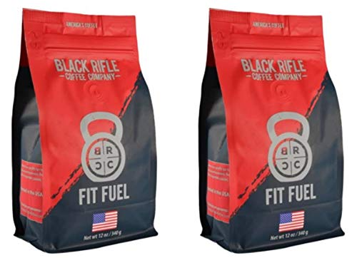 Black Rifle Coffee Company Ground Coffee 2-12oz Bags (Fit Fuel Blend)
