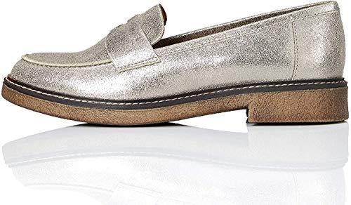 FIND Gumsole Slipper, Silber (Dusted Foil), 38 EU