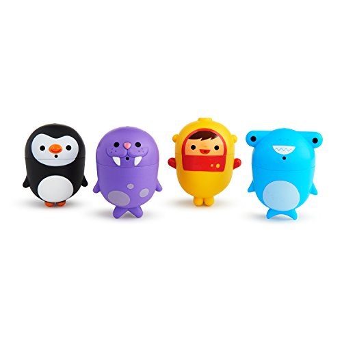 Munchkin CleanSqueeze Mold-Free 4 Piece Bath Squirts
