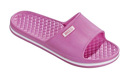 BECO Beermann GmbH & Co. KG Damen EVA-Badepantoletten-90323 Pantoletten, Pink Pink 4, 37 EU