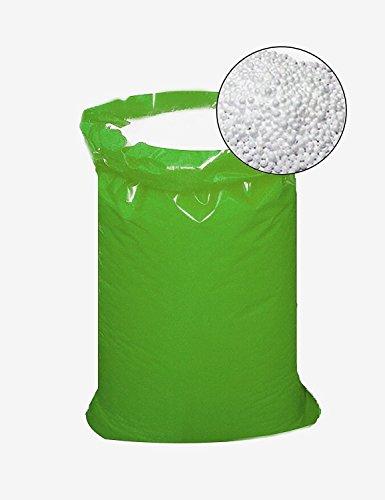 IMBALLAGGI 2000 - Sacco Palline Polistirolo per Riempimento Pouf - 250l - Sfere per Riempimento, Imballaggio e Isolamento - 1 Sacco