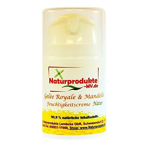 Gelee Royal & Mandelöl Feuchtigkeitscreme'NATUR' (50ml) Gelée Royale Creme