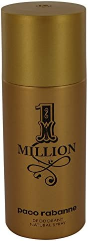 Paco Luxury Rabanne Beauty Gift 1 Inventory cleanup selling sale Million oz 5 Spray Cologne Deodorant