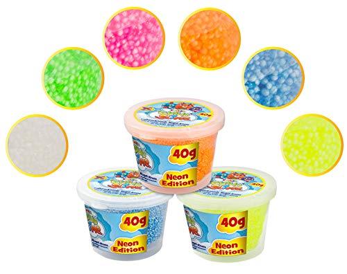 CRAZE- CloudSlime Cloud Slime Starter Can Neon Ballo Stucco Multicolor plastilina 15698