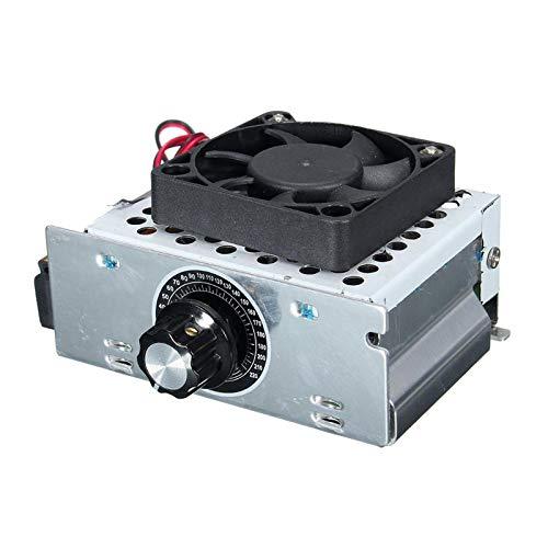 Amagogo Módulo Regulador Regulador de Voltaje 4000W 110-220VAC