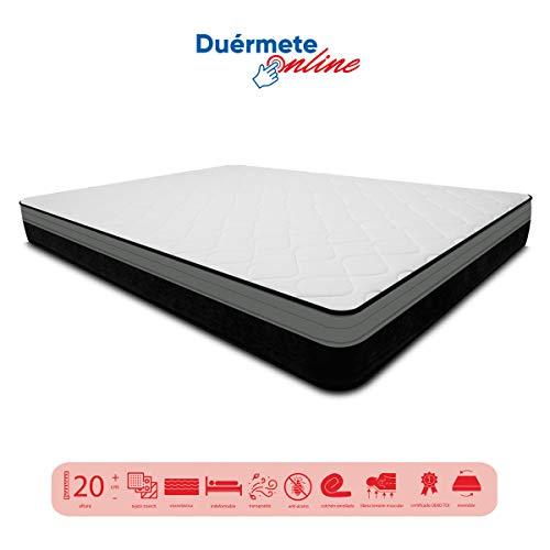 Duermete visco-elastische matras Goa omkeerbaar 90x190