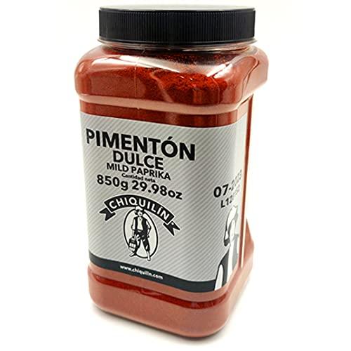 CHIQUILÍN - Pimentón dulce, bote de 850 gramos - Productos Gourmet desde 1909