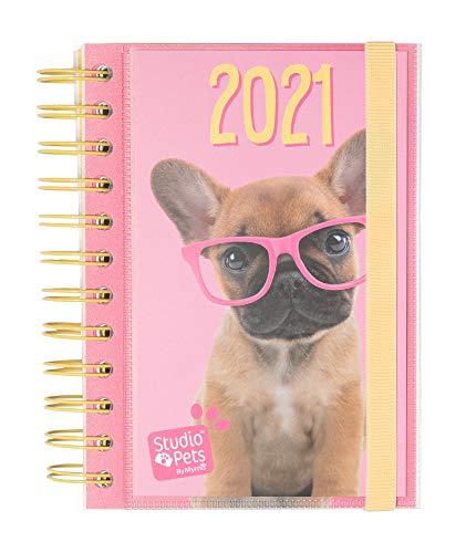ERIK - Agenda anual 2021 Studio Pets Dog, Día página (11,4x16 cm)