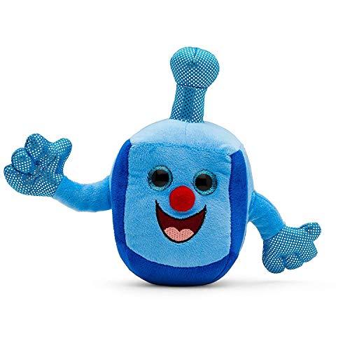 Plush Hanukkah Dreidel Toy for Infant with 2 Hanukkah Music Songs