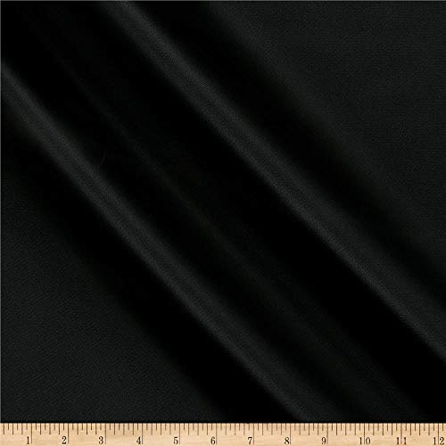 Vogue Group Waterproof Canvas Fabric, Black, Fabric By The Yard