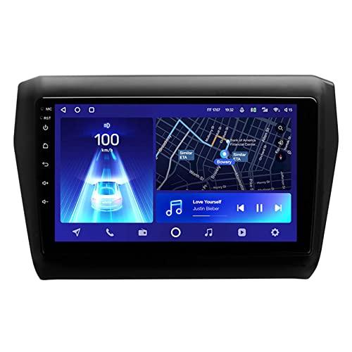 Amimilili estéreo de automóvil con Bluetooth, Navegador GPS para Coche Android 10 para Suzuki Swift 5 2016-2020 con 4G WiFi DSP Carplay Control del Volante Cámara Trasera,8core 4g+wif: 3+ 32g