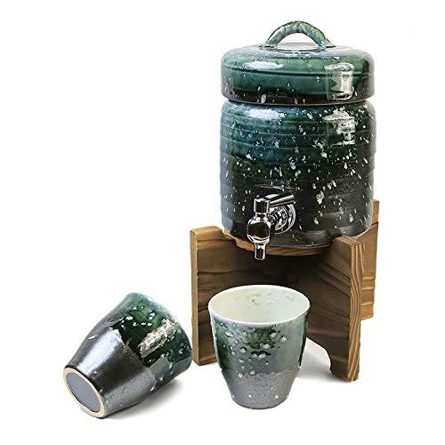 信楽焼 1.5L用 海峡焼酎サーバー しがらき焼 サーバー 陶器 おしゃれ ss-0114 (海峡)
