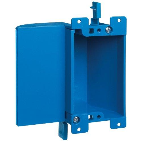 Carlon Lamson & Sessons B117RSW 1 Gang Blue Shallow Work Box