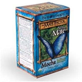 The Mate Factor Herb Tea, Energizing, Organic, Mocha Mint, 20 Bag (Pack of 2)