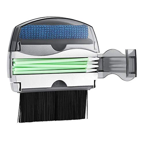 JKGHK Mini Broom Set Small Hand Broom and Brush Set for Cleaning Table Countertop Keyboard Pets Hair and Small Messes