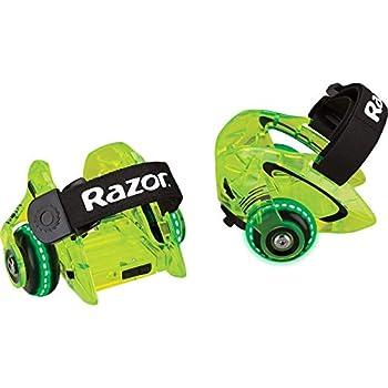 Razor Jetts DLX Heel Wheels - Neon Green