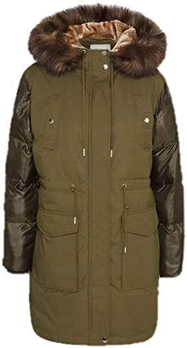 Pepe Jeans - Chaqueta Friday PL401859 682 Forest Green - Abrigo para Mujer (XS)
