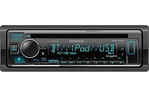 Kenwood Excelon KDC-X304 CD Receiver with Bluetooth | Amazon Alexa Ready