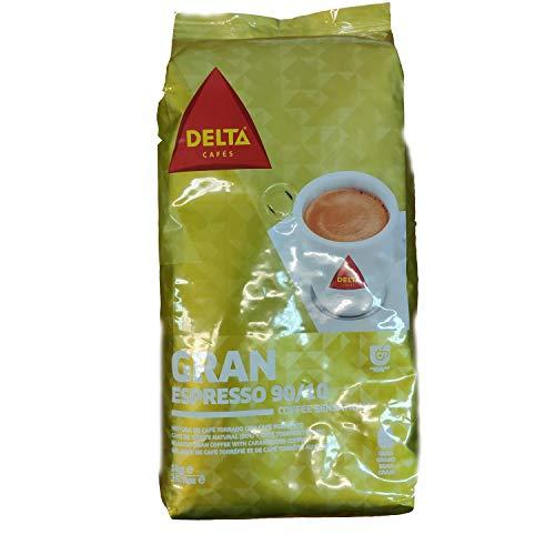 Delta Gran Expresso, Bohnen Kaffee aus Portugal 90/10 1kg