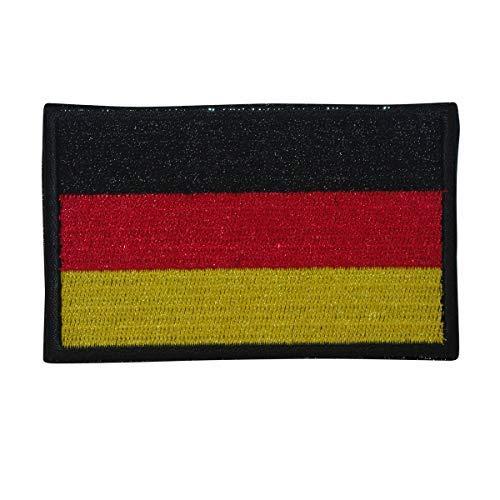 Cobra Tactical Solutions Military Patch Duitse vlag geborduurd met klittenbandsluiting voor Airsoft Paintball vlag Duitsland voor tactische rugzakkleding.