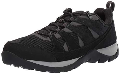 Columbia Redmond V2 WP, Chaussures de Randonnée Imperméables Homme, Noir (Black, Dark GRE), 42 EU