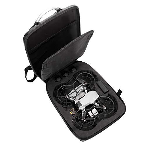 DEtrade Harte Schale Tragetasche Rucksack Tasche wasserdicht Anti-Shock Mode Hardshell Tasche Kompatibel mit DJI Mavic Mini (Black)