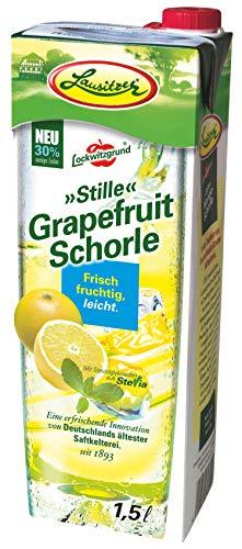 Lausitzer Stille Schorlen - Stille Grapefruit Schorle (8 x1,5 l)