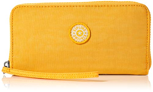 Kipling Imali, Carteras para Mujer, Amarillo (Vivid Yellow), 19x10x1 cm